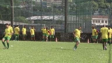 Em Ulrico Mursa, Portuguesa Santista enfrenta o Água Santa pela A2 - A Briosa se prepara para o duelo contra o líder do campeonato neste domingo (10), às 10h.