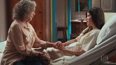 Cris confidencia a Margot que vai voltar ao passado - Margot visita Cris e a atriz pede que a amiga entregue uma carta à sua mãe. Alain visita Ana e Flávio e diz que precisa falar sobre um assunto sério com eles