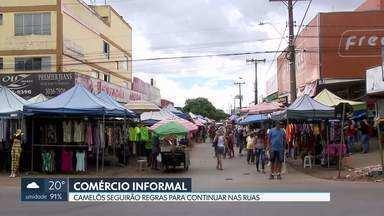 Ambulantes voltam às ruas do DF - AGEFIS vai estabelecer regras de regulamentação.Urbanistas chamam atenção para que vendas sejam feitas com segurança.