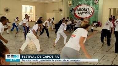 Encontro reúne capoeiristas de várias cidades da região Noroeste do ES - Casa da Cultura de Colatina foi ponto de encontro para vários praticantes de capoeira da região.