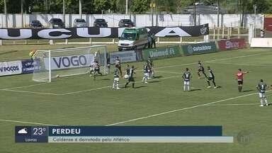 Atlético-MG bate a Caldense por 1 a 0 no Ronaldão - Atlético-MG bate a Caldense por 1 a 0 no Ronaldão