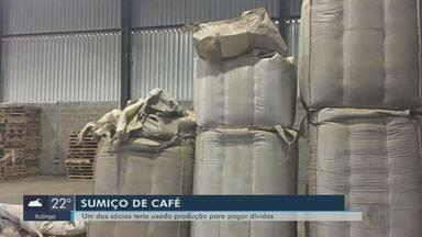 Polícia Civil investiga sumiço de cerca de 25 mil sacas de café em armazém de Três Pontas - Polícia Civil investiga sumiço de cerca de 25 mil sacas de café em armazém de Três Pontas