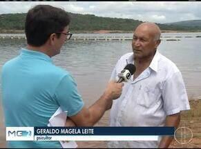 Especialistas monitoram Barragem de Três Marias após rompimento da barragem de Brumadinho - Piscicultores torcem para que a lama dilua antes de chegar ao Rio São Francisco.