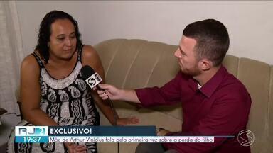 Mãe de Arthur Vinícius fala pela primeira vez sobre a perda do filho - Arthur esperava um ano especial. Depois das férias, estava empolgado para os treinamentos e a tentativa de voltar a defender a base da Seleção Brasileira.