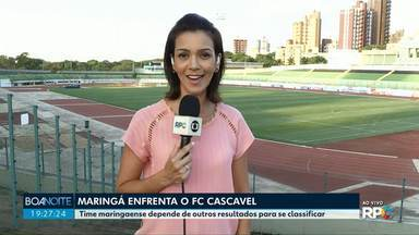 Maringá Futebol enfrenta o FC Cascavel - A equipe depende de outros resultados para se classificar.