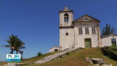 Obras na Capela de São João Batista, em Casimiro de Abreu, dependem da aprovação do Inepac - Assista a seguir.