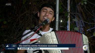 Keu Dantas se apresenta em Petrolina - O show é no domingo (10), em uma feijoada solidária