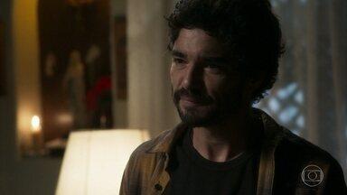 Geandro afirma que está decepcionado com Lourdes Maria - Socorro também discute com a filha por causa do jantar com Olavo