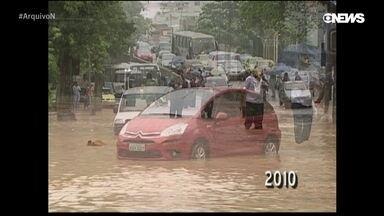 Um Rio de tragédias e enchentes
