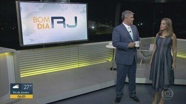 Bom Dia RJ - Edição de segunda-feira, 11/02/2019 - As primeiras notícias do Rio de Janeiro, apresentadas por Flávio Fachel, com prestação de serviço, boletins de trânsito e previsão do tempo.