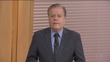 Bom Dia Brasil - Edição de terça-feira, 12/02/2019 - O telejornal, com apresentação de Chico Pinheiro e Ana Paula Araújo, exibe as primeiras notícias do dia no Brasil e no mundo e repercute os fatos mais relevantes.