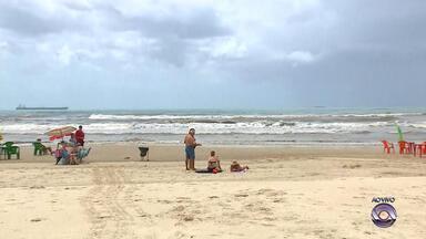 Veja como está o movimento na praia de Imbé, litoral gaúcho - Assista ao vídeo.