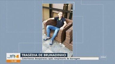 Catarinense pode estar entre as vítimas da tragédia de Brumadinho - Catarinense pode estar entre as vítimas da tragédia de Brumadinho