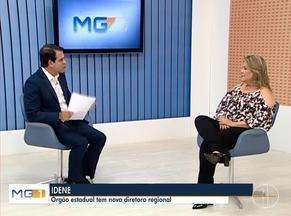 Nova diretora do Idene fala da estrutura do órgão nesse novo governo - Márcia Versiani é a nova diretora do órgão.