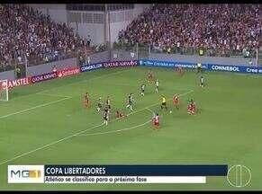 Esporte: Atlético se classifica para a Libertadores - Confira outras notícias do esporte.