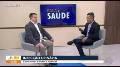 Quadro 'Fala Saúde' fala sobre problemas causados pela infecção urinária - Quem esclarece isso é o urologista Francisco Carvalho
