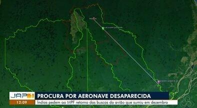 Lideranças indígenas pedem no MPF que buscas por avião desaparecido sejam retomadas - Monomotor desapareceu com oito pessoas na Floresta Amazônica há mais de dois meses.