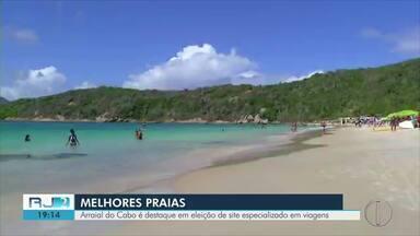 Praias de Arraial do Cabo, RJ, são destaques em eleição de site de viagens alemão - Assista a seguir.