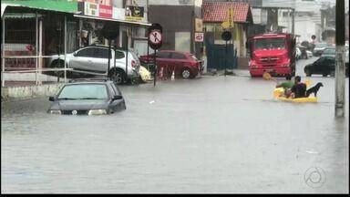 JPB2JP: Chuva forte causa transtornos em João Pessoa - Trens deixaram de circular.