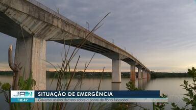 Governo do Tocantins decreta situação de emergência em Porto Nacional - Governo do Tocantins decreta situação de emergência em Porto Nacional