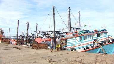 Pescadores aguardam abertura de terminal pesqueiro - Pescadores aguardam abertura de terminal pesqueiro.