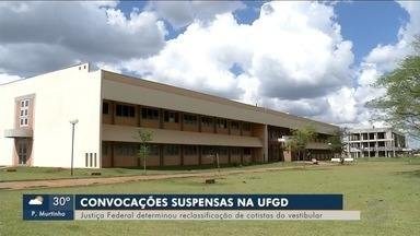 Justiça suspende convocações do vestibular da UFGD - Universidade vai ter que reclassificar candidatos cotistas que foram eliminados durante o processo.