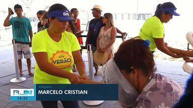 Sesc Verão Rio das Ostras manteve apenas eventos internos por causa da chuva - Assista a seguir.
