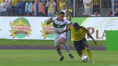 Veja os lances de FC Cascavel 0 x 0 Coritiba pela semifinal do Paranaense - Veja os lances de FC Cascavel 0 x 0 Coritiba pela semifinal do Paranaense