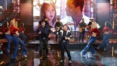 Rionegro & Solimões cantam 'Peão Apaixonado' - Música fez parte da trilha sonora de 'Laços de Família'