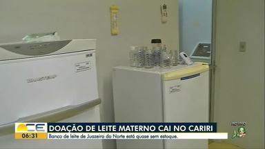 Hospital pede doação de leite no Cariri - Hospital também pode buscar doação nas casas das mães