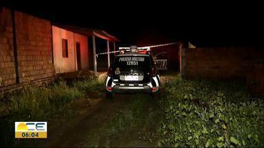 Mulher é morta e adolescentes baleados em Caucaia - Crime teria sido motivado por desavenças entre facções criminosas.