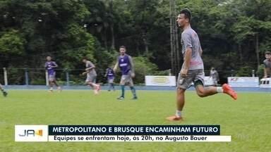 Metropolitano e Brusque se enfrentam pelo Campeonato Catarinense - Metropolitano e Brusque se enfrentam pelo Campeonato Catarinense