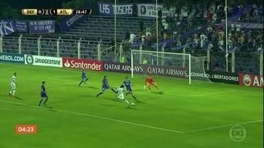 Atlético-MG vence o Defensor pela Libertadores - Partida terminou em 2 a 0. Confira os gols.