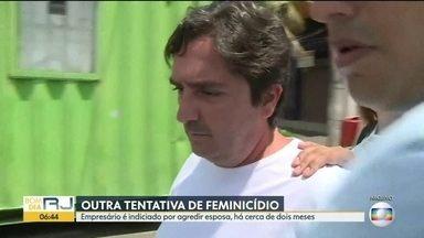 Empresário é indiciado por agredir esposa - Fábio Tuffy Felippe é filho do presidente da Câmara de Vereadores do Rio. As agressões ocorreram em dezembro do ano passado.