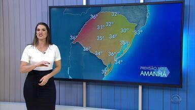 Massa de ar seco garante tempo firme em todo RS nesta sexta-feira (22) - Assista ao vídeo.