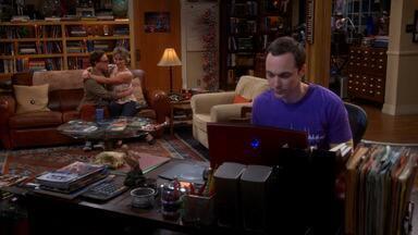 A Determinação Do Compromisso - Sheldon pressiona Leonard e Penny para escolher uma data para o casamento, enquanto lida com mudanças em seu próprio relacionamento. Raj cogita terminar com Emily.