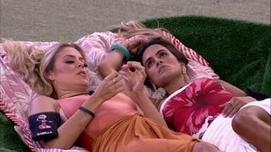 Carolina declara sobre Elana: 'Ela se vitimizou' - Carolina declara sobre Elana: 'Ela se vitimizou'