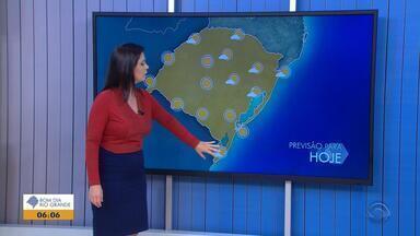 Após queda nos últimos dias, temperaturas voltam a subir nesta quinta-feira (28) no RS - Assista ao vídeo.