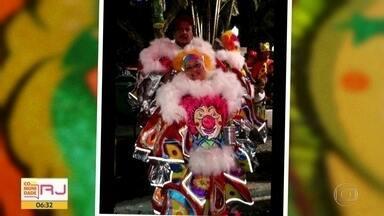 Conheça a história e a paixão pelos bate-bolas no carnaval carioca - Conheça a história dos batate-bolas, personagens clássicos do carnaval carioca. Famílias se reúnem em torno da cultura do bate-bola.