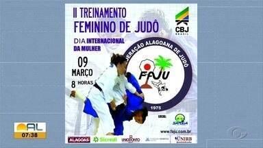 Federação Alagoana de Judô convoca atletas para uma série de treinamentos - Primeiro treinamento será em Satuba e os outros dois na sede da federação no bairro do Feitosa.