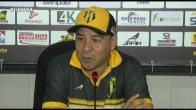 Globo Esporte PA | Artur Oliveira é apresentado como novo técnico ...