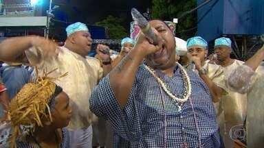 Alegria da Zona Sul exalta a umbanda em samba-enredo - Samba é puxado por Igor Viana, filho de Ney Viana, voz histórica da Mocidade Independente de Padre Miguel.