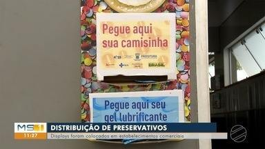 Secretaria Municipal de Saúde de Campo Grande distribuiu preservativos durante o Carnaval - Secretaria Municipal de Saúde de Campo Grande distribuiu preservativos durante o Carnaval