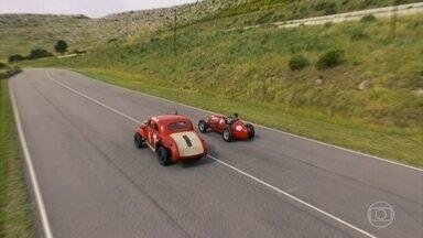 Conheça a pista criada por Juan Manuel Fangio - AutoEsporte roda no traçado e também mostra carro de F1 do campeão argentino.