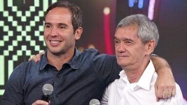 Serginho Groisman e Caio Ribeiro acertam música do Trem da Alegria - Walter Casagrande e Luís Roberto não lembram da música