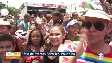 Shows e desfiles de agremiações animam o carnaval em Paudalho - Crianças e adultos curtiram frevo e outros ritmos na cidade, na Zona da Mata Norte