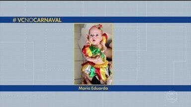 Telespectador que entrou no ritmo da folia pode enviar fotos para o #vcnocarnaval - Imagens devem ser encaminhadas para o WhatsApp da TV Globo