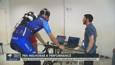 Pesquisadores da Unicamp criam tecido para melhorar performance de atletas - Novo tecido interfere no desempenho dos músculos durante atividades físicas.