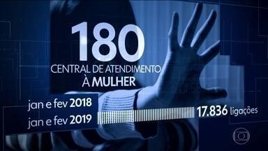 No Brasil, uma mulher é morta a cada duas horas vítima da violência - Os números são do Monitor da Violência, um estudo do G1 em parceria com o núcleo de estudos da violência da USP e o Fórum Brasileiro de Segurança Pública.