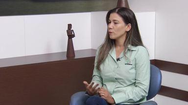 Especialista em forragicultura e pastagem explica sobre novas formas de alimentação bovina - Leidy Rufino alerta sobre plantas mais resistentes à seca.